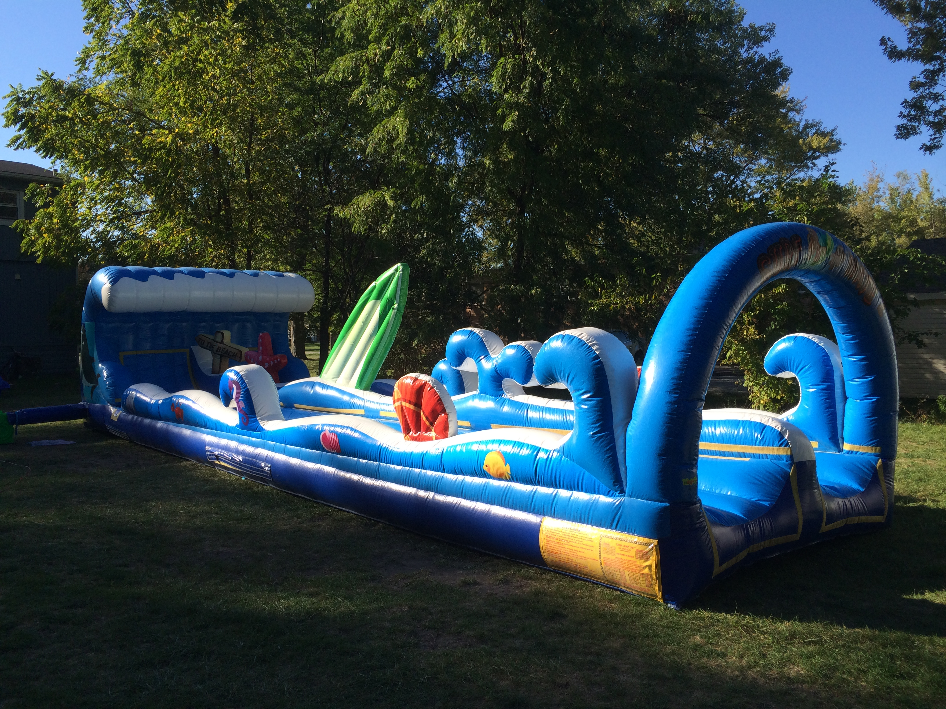 surf the wave water slide rental Florida | Cape Coral | Bounce House Jumpie | Ft Myers