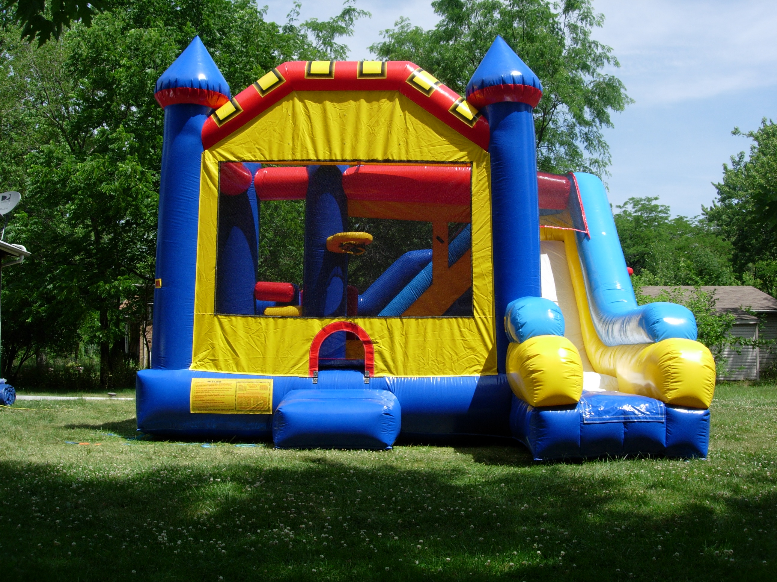 Inflatable Bounce House Rentals Water Slides Cape Coral
