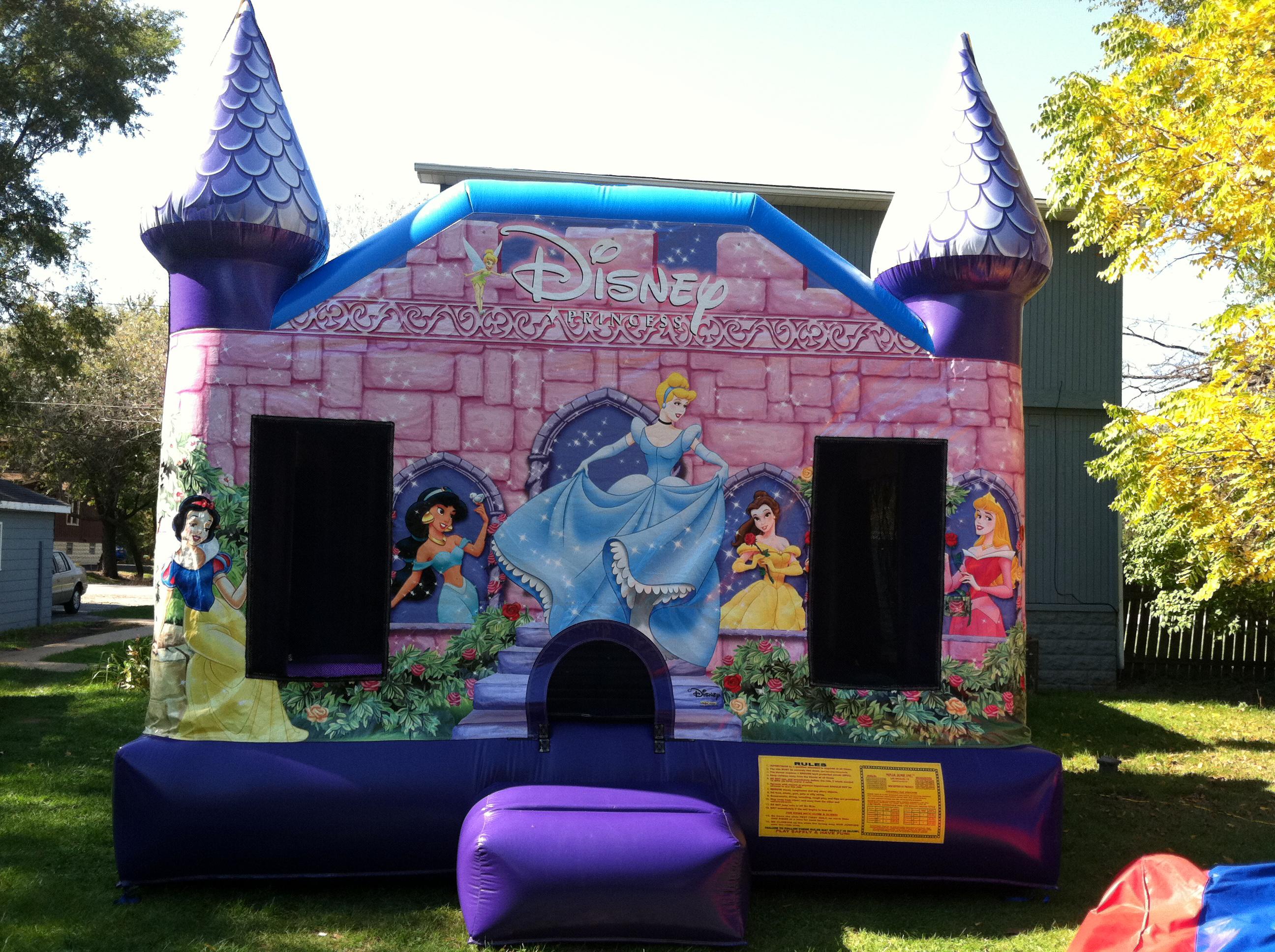 Disney Princess Bounce House Jumpie Rental   Ft Myers   Cape Coral FL