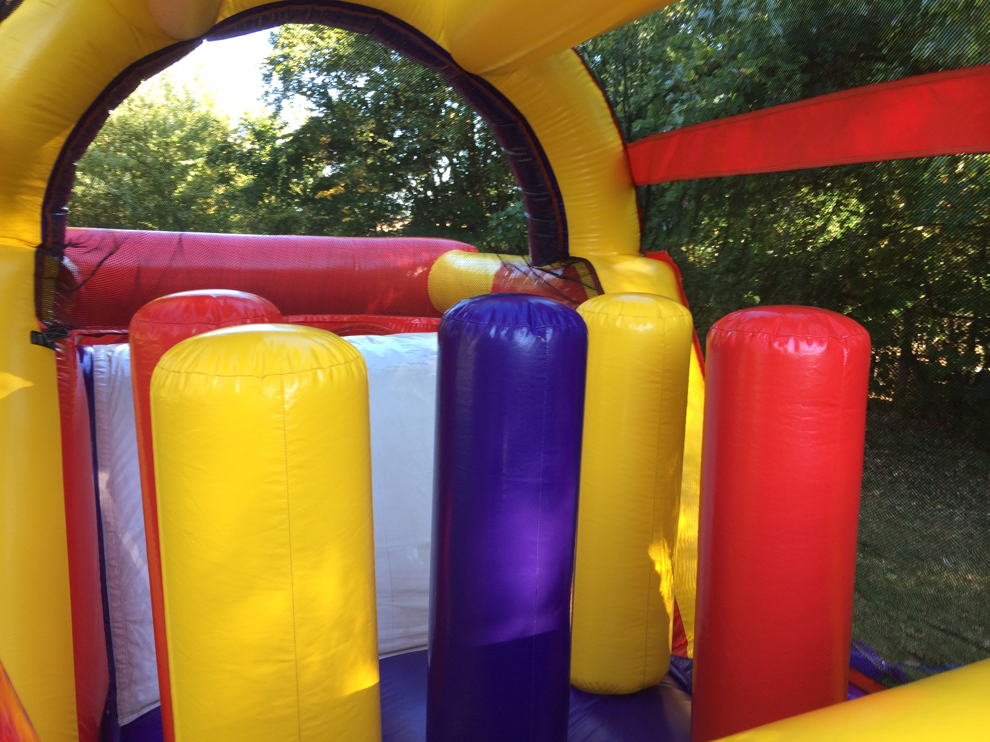 blowup obstacle course rental