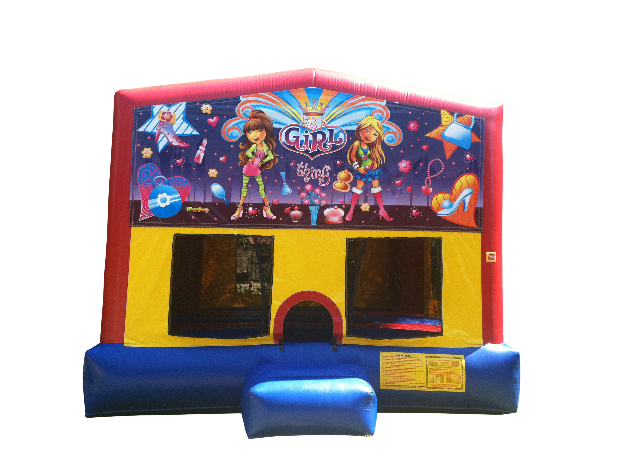 Girl Bounce House Theme Rental | Cape Coral | Ft Myers