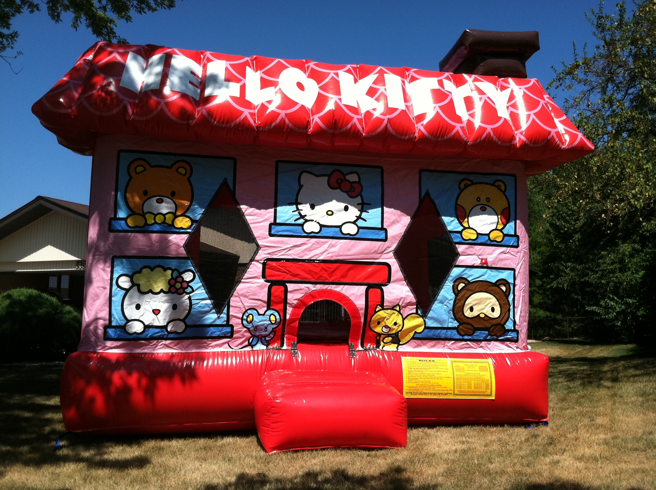 Hello Kitty Themed Bounce House Rental   Ft Myers