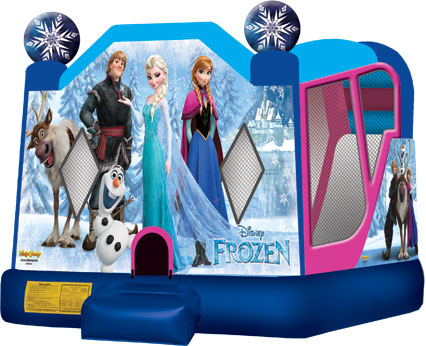 Frozen Bounce House Rental | Cape Coral | Ft Myers | Florida