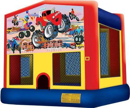 Monster Truck Bounce Jumpie rental