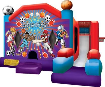 Rent a sports bounce house jumpie near napels FL Ft. Myers FL