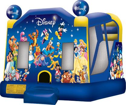 Cape Coral FL Disney Theme Bounce House Rental