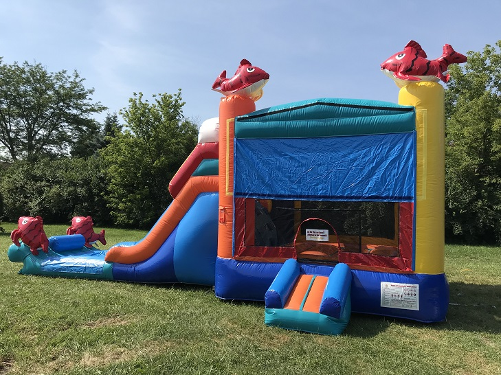 inflatable slide jumpie | Cape Coral
