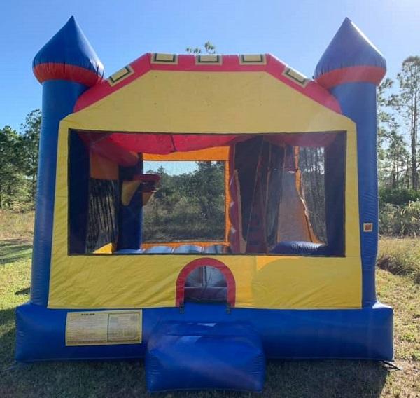 Castle Bounce House Rental | Fort Myers | Bonita Springs | Cape Coral