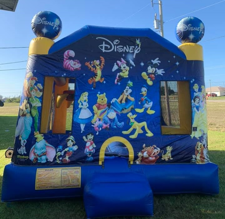 Disney Combo Bounce House Rental in Cape Coral FL