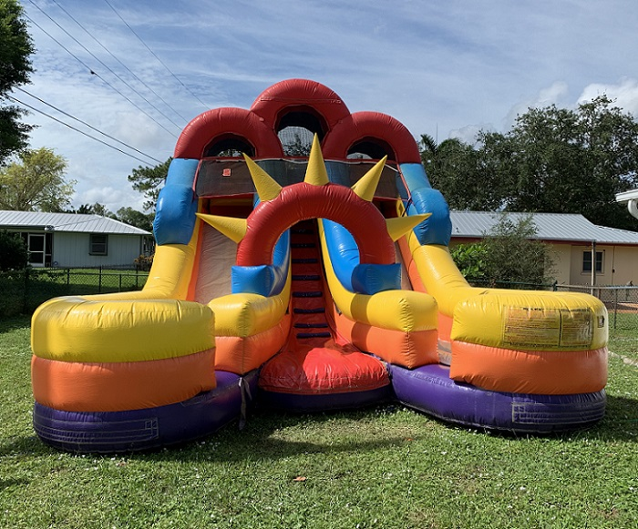 Bounce House Water Slide Rental - Cape Coral to Naples