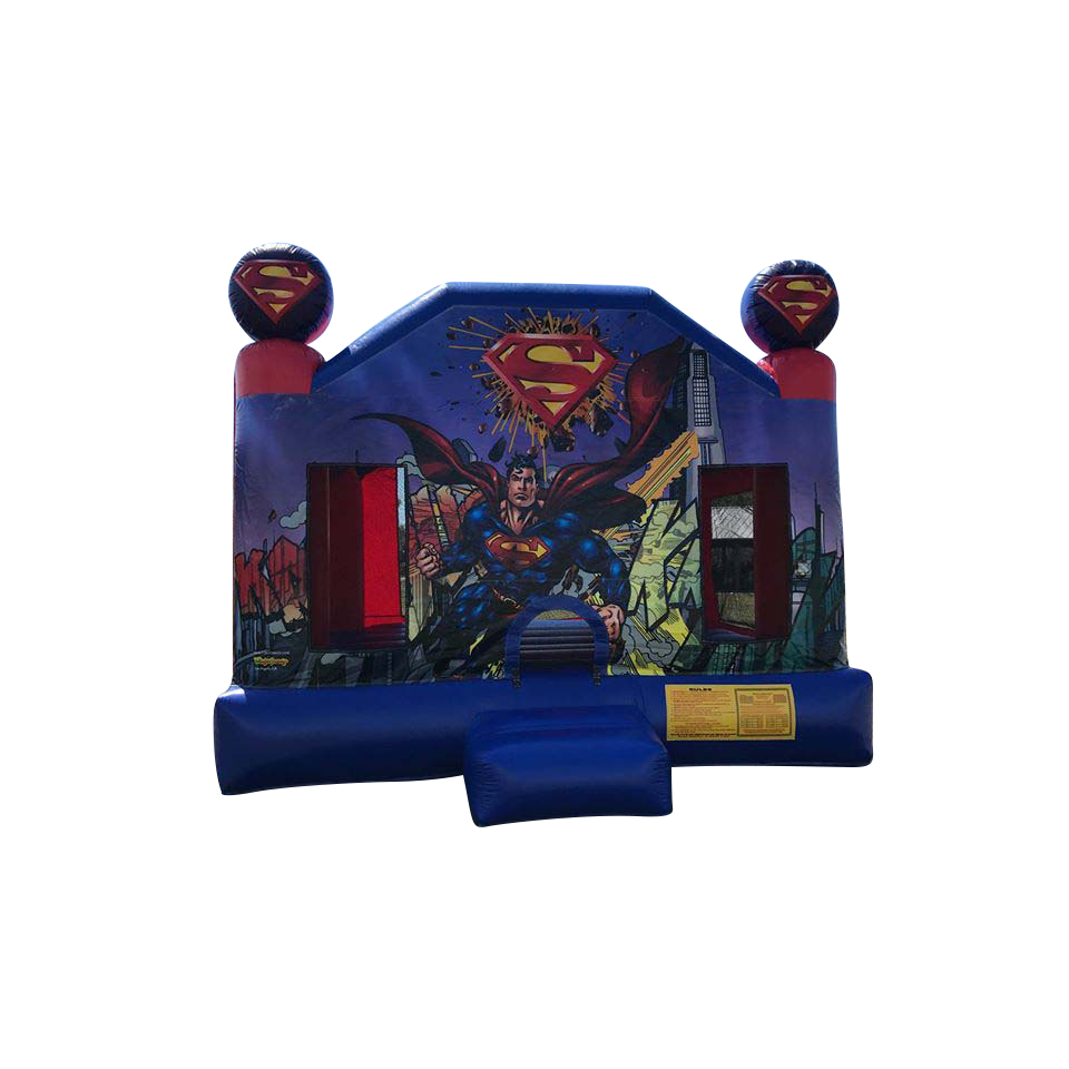 Superman Bounce House Rental in Cape Coral | Fort Myers