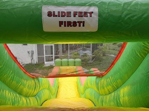 Rent a Water Slide – Tiki Rush