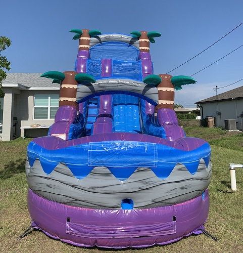 Rent a water slide – Tropical Rush