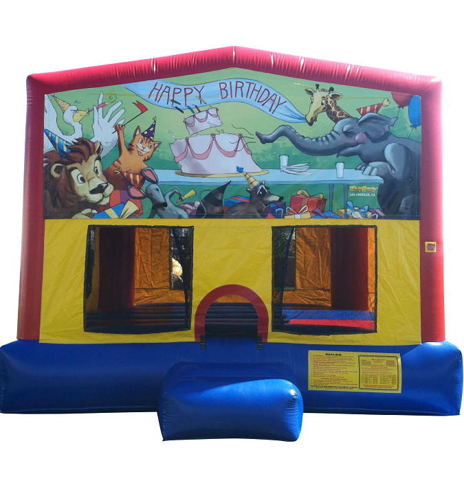 Birthday Themed Bounce House Rental - Coral Springs FL