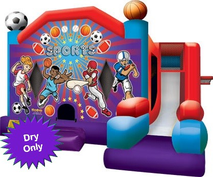 Sports Bounce House Jumpie Rental Cape Coral FL