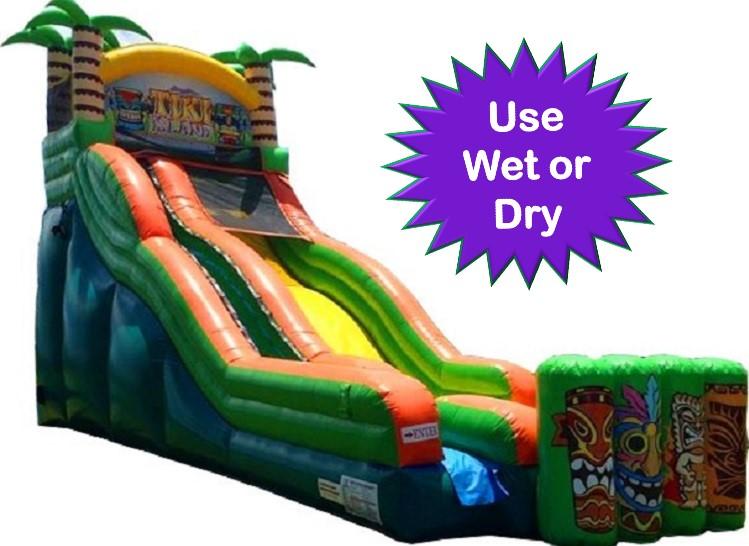 Tiki Rush Water Slide Rental - Bonita Springs