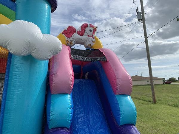 Birthday Unicorn Bounce House Rental Cape Coral Florida
