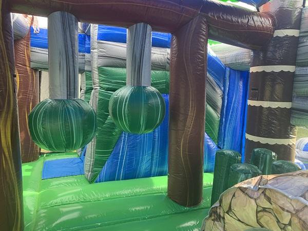 Fort Myers Jurassic Bounce House Rental Combo