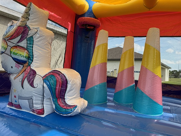 Unicorn Bounce House Combo Rentals - Bonita Springs